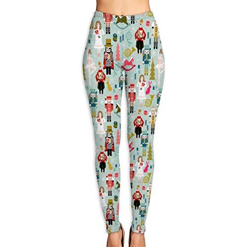 Price comparison product image WJM SHOW Women's Nutcracker Christmas Ballet Leggings Yoga Long Pants Casual Sweatpants Athletic Gym Pants