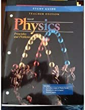Study Guide Teacher's Edition (Merrill Physics Principles and Problems)