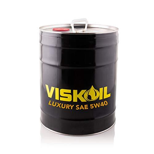 20 Lt Olio Sintetico 5W40 Viskoil Per motori Benzina Diesel Acea C2 C3
