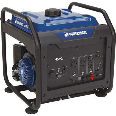 Powerhorse Open Frame Inverter Generator - 4500 Surge Watts, 3700 Rated Watts