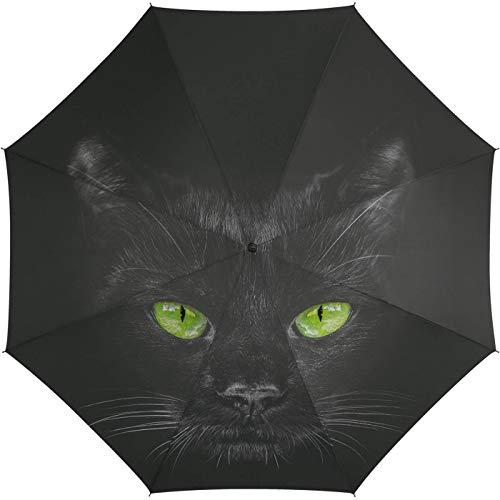 Automatik Regenschirm Stockschirm Essentials cat mit wunderschönem Katzenmotiv