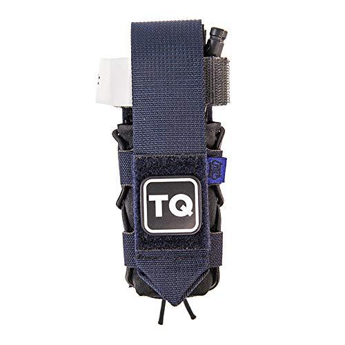 High Speed Gear HSG Tourniquet Taco Pouch with TQ Patch, Molle Attachment, Color LE Blue