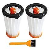 Paquete de 3 filtros de repuesto compatibles con las aspiradoras Electrolux Rapido y Ergorapido en comparación con la pieza n.o AEG AEF144, Electrolux EF144