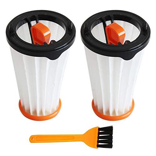 Paquet de 3 filtres de rechange compatibles avec les aspirateurs Electrolux Rapido et Ergorapido Comparé à la référence AEG AEF144, Electrolux EF144