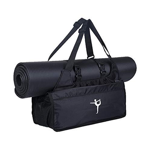 WANGQI Bolsa de yoga, esterilla de gimnasia, esterilla de yoga, bolsa con cremallera...