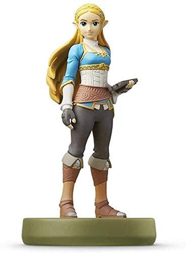 Byrhgood Leyenda de Zelda Amiibo: Zelda Princesa Figurita!Leyenda de Zelda Figura de acción de Juego Masterpiece Figura Coleccionable de la respiración de la Exquisita Wild Embalaje 3DS / WiiU/Switch