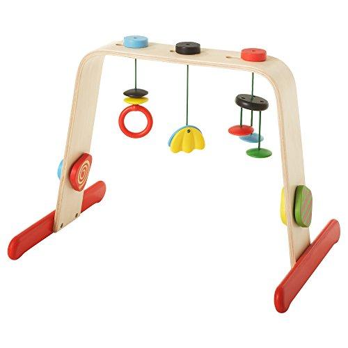 IKEA Spielbogen LEKA Babygym Holz