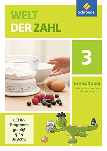 Welt der Zahl - Ausgabe 2015 Lernsoftware: Lernsoftware 3 auf CD-ROM