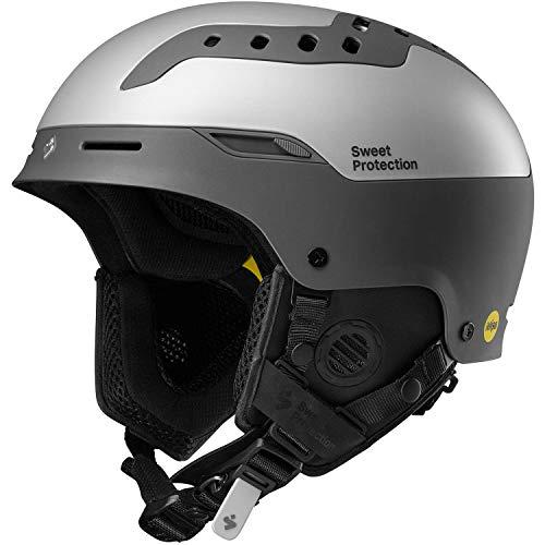 Sweet Protection Unisex – Erwachsene Switcher MIPS Ski/Snowboard Helmet, Slate Gray Metallic, ML