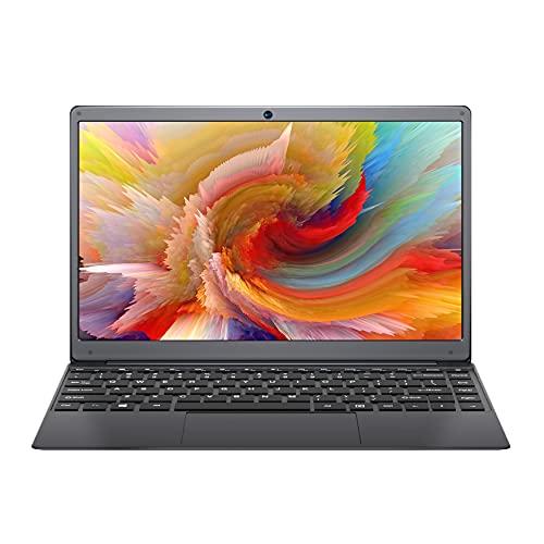 BMAX S13 Ordenadores Portátiles, 13.3' Windows 10 Laptop, N4020 6GB LPDDR4 de RAM, 128GB SSD de Almacenamiento, QWERTY Diseño de Teclado Americano, BT4.2, USB...