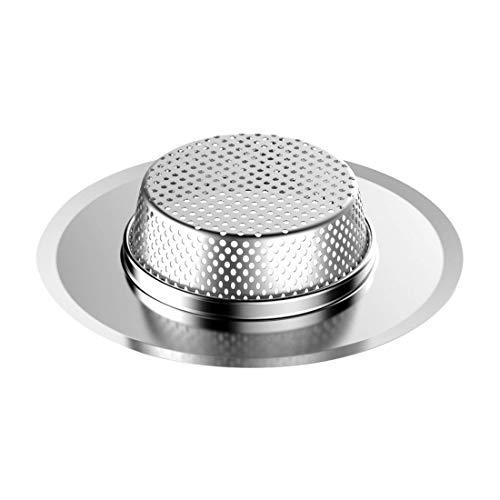 Vitorhytech 7 cm / 9 cm / 11 cm Küchenspüle Sieb Ablaufloch Filter Falle Metall Waschbecken Sieb Edelstahl Bad Waschbecken Abfluss Bildschirm