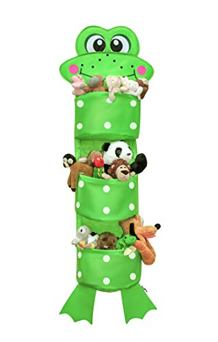 JUMBO | Summer Sale | KIDS HANGING TOY STORAGE by Bennet & Bradley |Wall Hanging Organizer for Baby Clothes, Stuffed Animals & Toys. Perfect Gift | 100% Guarantee | includes Bonus & Luxury Gift Box