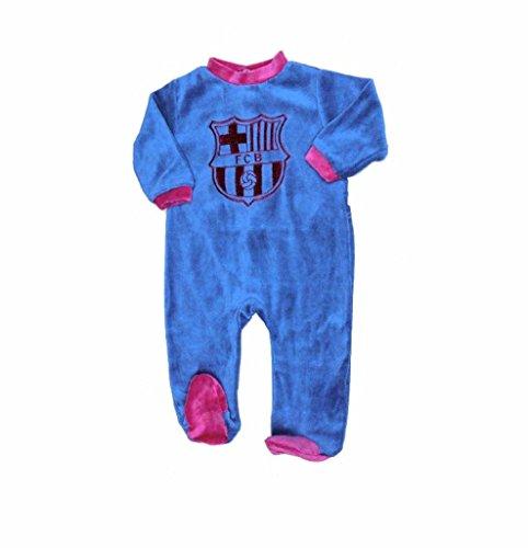 PELELE BEBÉ FC.BARCELONA T6M VELOUR
