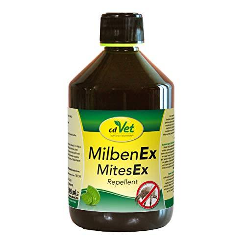 cdVet MilbenEx Milbenabwehr-Spray 500 ml – hervorragender Sofortschutz für alle Wirbeltiere, natürliches Milbenmittel ohne synthetische Toxine