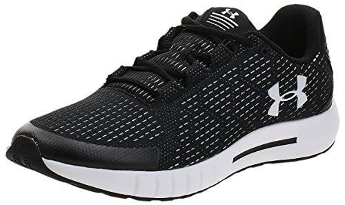 UNDER ARMOUR Men's Micro G Pursuit SE Running Shoe, Black (003)/White, 10