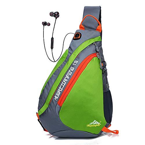 Sling Rucksack Sport | Sling Bag Dreieck | Outdoor Brusttasche Crossbag | Schulterrucksack...