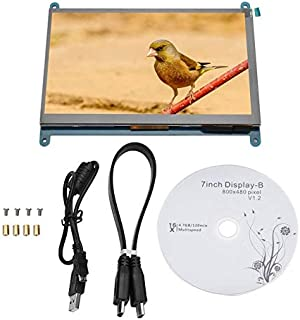 Tool Parts 7inch LCD HDIMI 1024x600/800x480 Computer Minitor Touch Screen for Raspberry Pi LCD Display Module - (Color: WH...