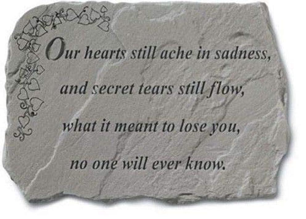 Our Hearts Still Ache In Sadness Memorial Garden Stone