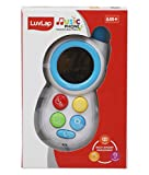 Interactive musical phone with multi colored design, plays sound effects, music and animal sounds on pressing the bright colored buttons Helps stimulation of sight, hearing and touch in child/baby Hands-on activities develop baby's fine and gross mot...