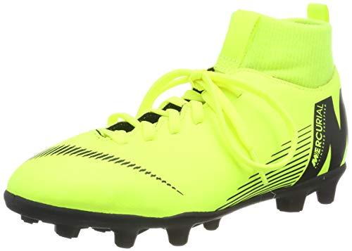 Nike Unisex-Kinder Jr Superfly 6 Club Mg Fußballschuhe, Grün (Volt/Black 701), 36.5 EU (4 UK)