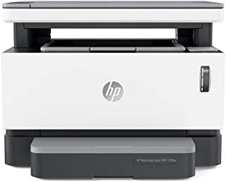 HP 4RY26A Neverstop Laser 1200W Wireless, Print, Scan, Copy,Automated Document Feeder, Mono Printer - White