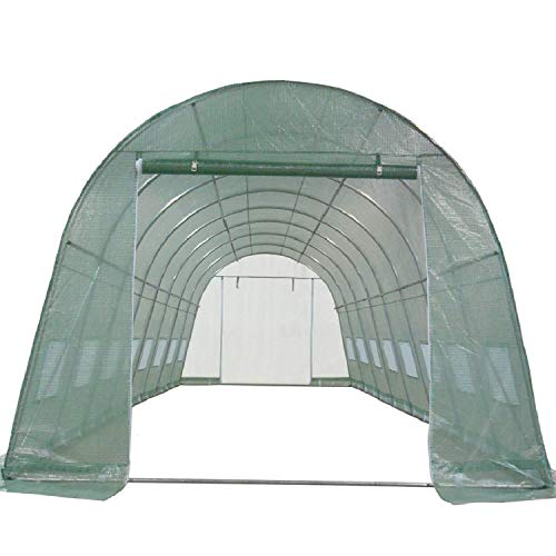 DELTA Canopies Greenhouse 26'x12' - Large Heavy Duty Green House Hothouse Walk in - 170 Pounds By