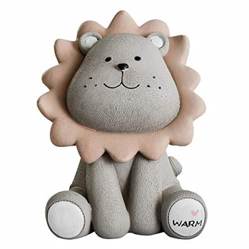 LJXLXY Decoraties Art Craft Lion piggy bank cartoon kinderen kassa 2