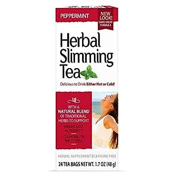 21st Century Slimming Tea peppermint 24 bags