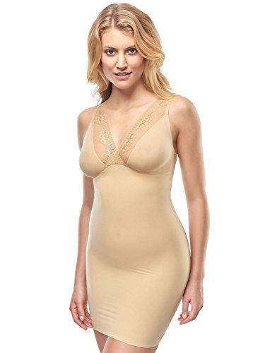 Susa Group Susa Damen Shapewear Unterkleid 5536, Einfarbig, Gr. 36 (Herstellergröße: S), Braun (toffee 123)