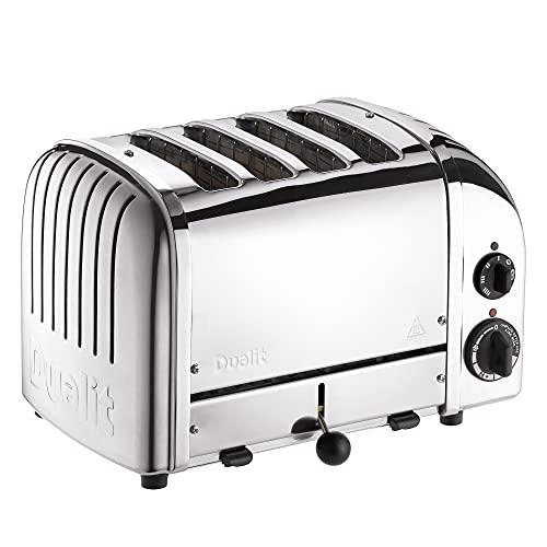 Dualit 4 slice 4 Slot Toaster, Chrome