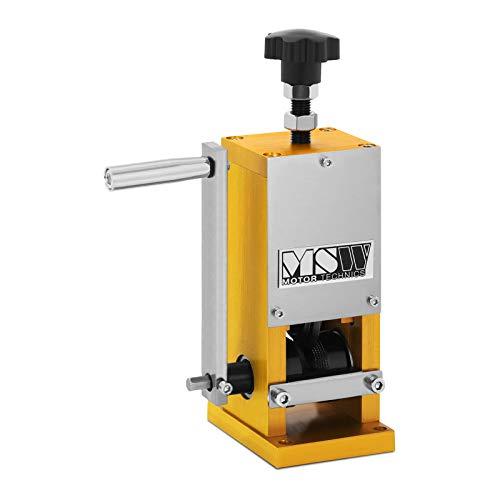 MSW - MSW Kabelschälmaschine Kabelabisoliermaschine Kabelschäler Wirestripper-006 - manuell - 1 Einschub