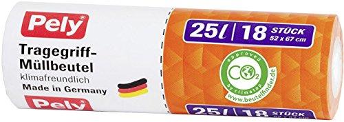 pely Tragegriff-Müllbeutel, 18 Stück