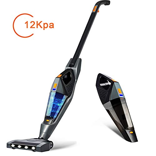 Learn More About Cordless Vacuum, Hikeren 12Kpa Powerful Suction Lightweight Stick Handheld Vacuum C...