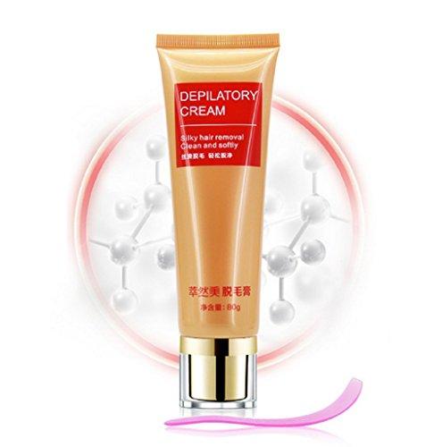 Kuulee Permanent Body Hair Removal Cream for Men and Women Hand Leg Hair Loss Depilatory Cream...