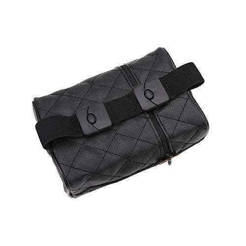 YXNVK Universal PU Leather Car Tissue Box Cover Napkin Paper Holder Sun Visor Towel Organizer Case Auto Interior Accessories