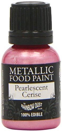The Rainbow Dust - Pintura Comestible Pearlescent Cerise 25Ml