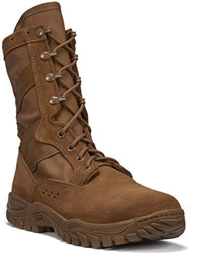 B Belleville Arm Your Feet Men's ONE XERO C320 Ultra Light Assault Boot, Coyote - 4.5 R