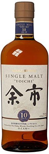 Whisky japonés nikka yoichi 10 años botella 70 cl