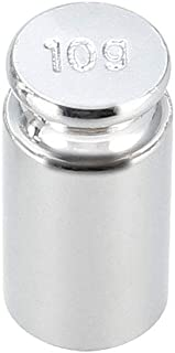 uxcell Gram Calibration Weight 10g M1 Precision Chrome Plated Steel for Digital Balance Scales