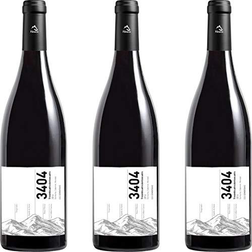 3404 Vino Tinto Joven - 3 botellas x 750ml - total: 2250 ml