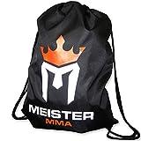 Meister MMA Drawstring Sackpack - Backpack Gym Bag