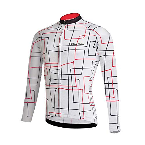 Uglyfrog #02 Homme Hiver Fleece Warm Respirant Maillot Cyclisme Manches Longues Jersey des Sports Tops