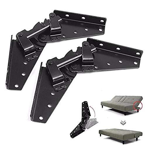 Wuyee Cerniera Regolabile per meccanismo a 3 Posizioni con meccanismo a 3 Posizioni per Divano Letto in Metallo in Metallo Hardware