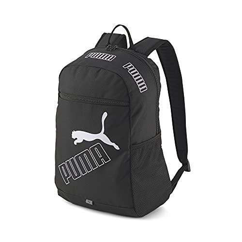 PUMA 77295 Damen, Phase Backpack Ii Tagesrucksack, Schwarz, Einheitsgröße
