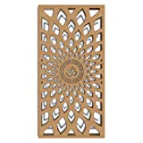 MDF Jali Deco Panel for Room Partition, Screen, Divider, Door (2 feet x 6 feet)