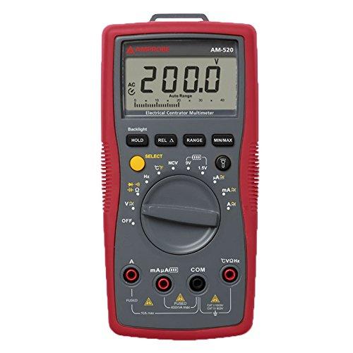 AM-520-EUR Digitalmultimeter mit Messleitungen