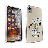 iPhone XR Case Snoopy Woodstock PC + TPU Dual...
