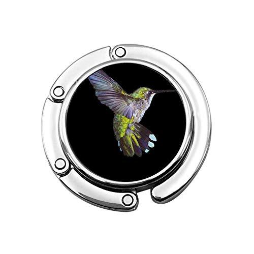Gancho de Monedero para colibríes de Mesa Ganchos de Mesa Negros para monederos Colgador de Bolso para niñas Decoración de Silla de café