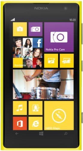 Nokia Lumia 1020 32GB GSM Unlocked Windows Smartphone - International Version (Yellow)