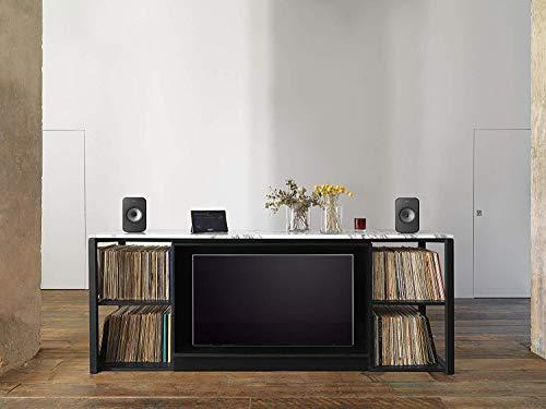 KEF LSX Wireless Music System (Black, Pair) LSX Black